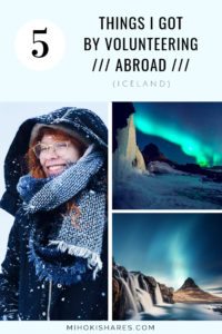 What I experiences by colunteering abroad in Iceland | Mihoki Shares - Growth Art - Travel
